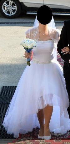 Sprzedam suknie ślubną rozm. 36