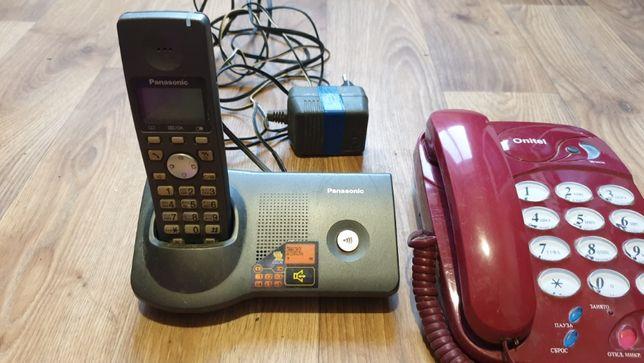 Срочно!!!Стационарные телефоны Панасоник и ещё один