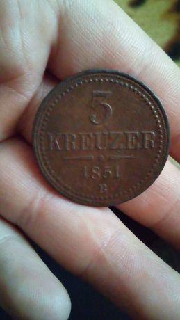 KREUZER, 1851 года