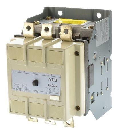 Контактор (пускатель) AEG LS297 AC3-160kW, 410A, Германия
