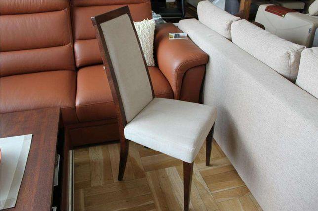 Krzesła krzesło -20% Bydgoskie Meble K 1702 -15% J1 dąb czek. tk. beż