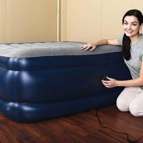 Intex 64132, Надувная кровать со встроенным электронасосом