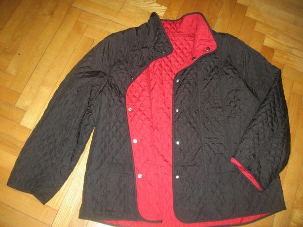 куртка легкая двусторонняя 46/3XL/54