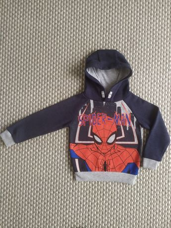 Bluza z kapturem Marvel Spiderman rozmiar 92-98