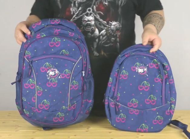 Новый Рюкзак (2 рюкзака в 1) Yes Cherry для девочек 29х46х15.5 см 24 л