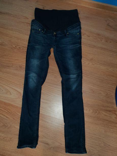 Spodnie/jeansy ciążowe H&M 40