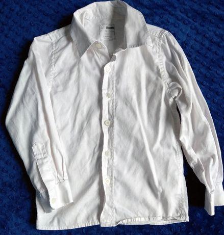 NAME IT biała koszula wizytowa 5-6 lat