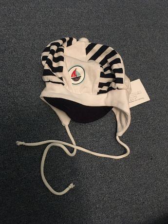 Zestaw za 3 zł Czapeczki chłopięce niemowlęce czapki 0-6 m