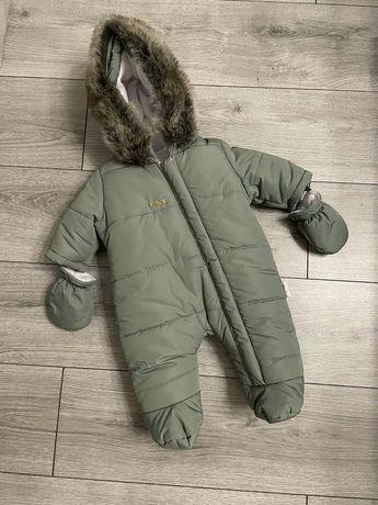 Дитячий комбінезон для новонароджених, зимний комбинезон детский ЗИМА