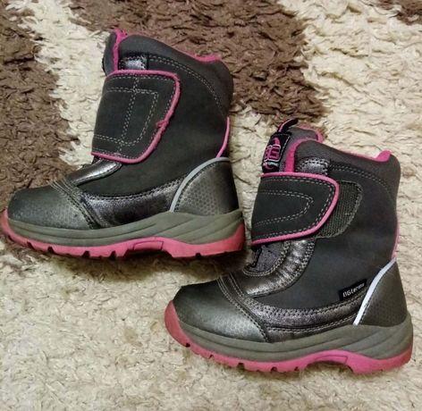 Сапоги ботинки BG-Termo зимние термо на девочку 24 р.