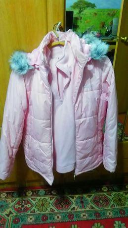Костюм для активного отдыха, куртка и штаны, размер 44.