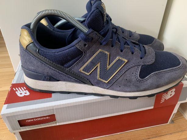 New balance 996 niebiesko-złote