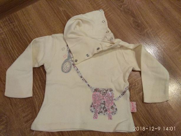 Кофточка нарядная на 1-3 годика