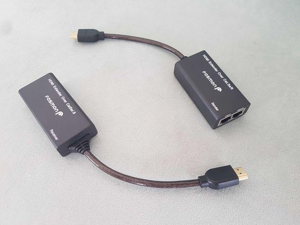HDMI LAN удлинитель по витой паре RG45 пассивный