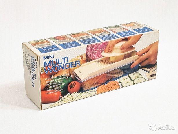 Овощерезка ручная с соковыжималкой для цитрусовых MULTI WONDER