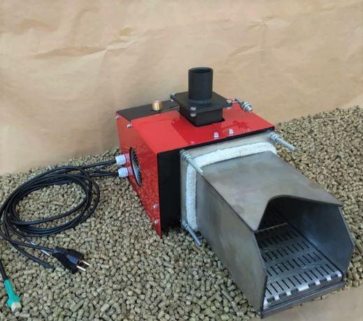 Пеллетная горелка 20 кВт Пелетний пальник с автоматической очисткой