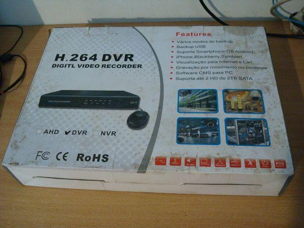 Видеорегистратор видеонаблюдения на 16 каналов DVR-8816 Н.264.