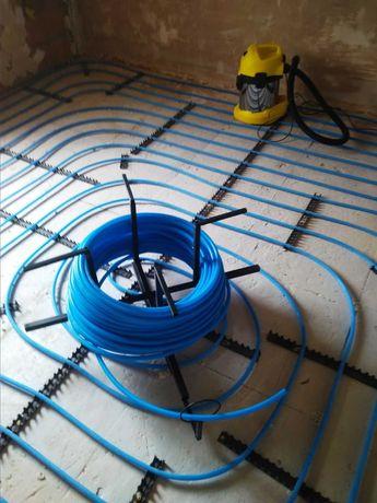 Универсальный размотчик для электрического кабеля и труб тёплого пола