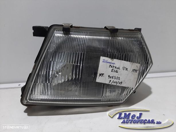Farol normal Esq Usado NISSAN/PATROL GR V Wagon (Y61)/2.8 TD   1998