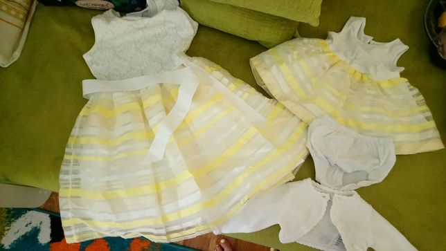 Сукня,платье family look Children's place .