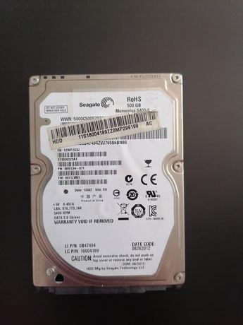 "Накопитель HDD 2.5"" SATA 500Gb Seagate, 16Mb, 5400rpm, Video (ST500VT0"