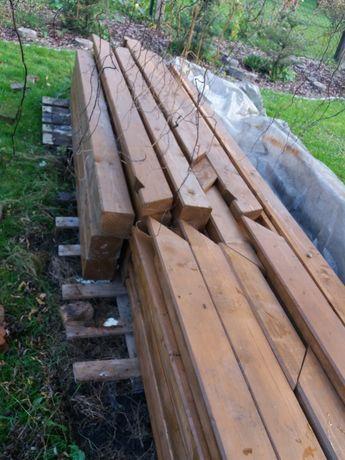 Wiata drewniana garażowa 4x5