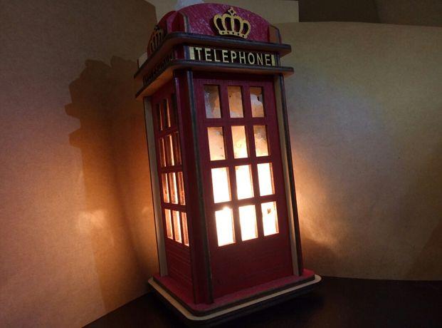 Соляной светильник. Гарри Поттер телефонная будка