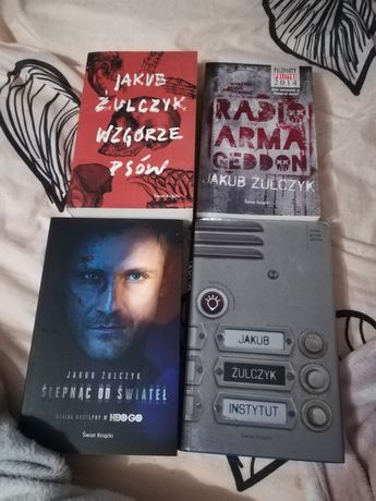 Jakub Żulczyk - Radio Armagedon, Ślepnąc od świateł, Instytut, Wzgórze