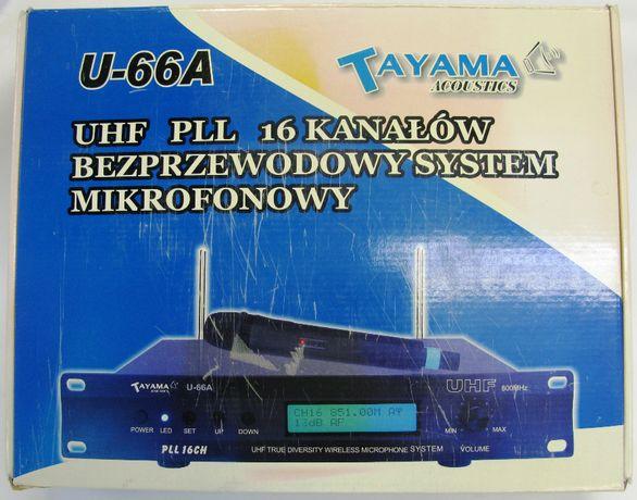 Zestaw do karaoke Tayama Acoustics U-66A bezprzewodowy NOWY