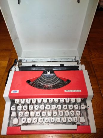 Машинка печатная UNIS-tbm de Luxe