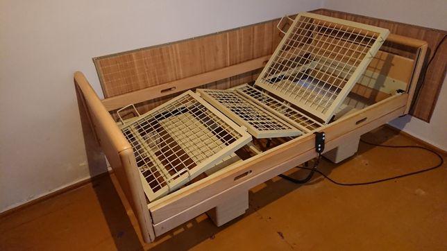 Łóżko rehabilitacyjne domowe tanie na pilota