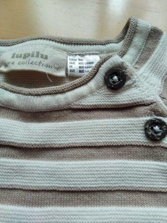 Sweter/sweterek bawełniany 86/92