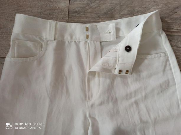 Szerokie spodnie Massimo Dutti