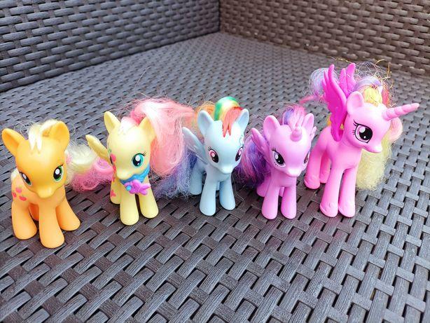 Zestaw kucyków My Litle Pony + kareta - 180 zł