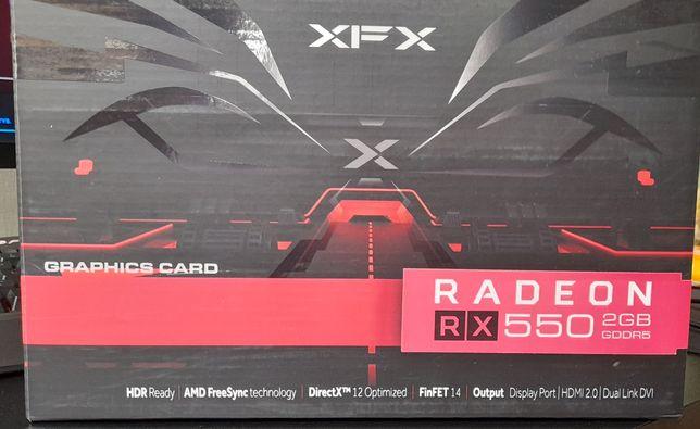 Karta graficzna XFX AMD Radeon RX 550 2GB