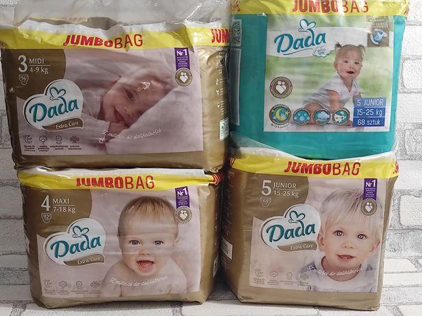 Підгузники Dada Extra Care та Dada Extra Soft