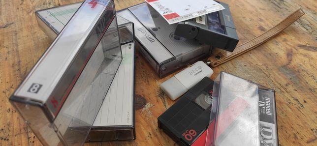 Digitalização de cassetes VHS Hi8 Betamax, bobines super8
