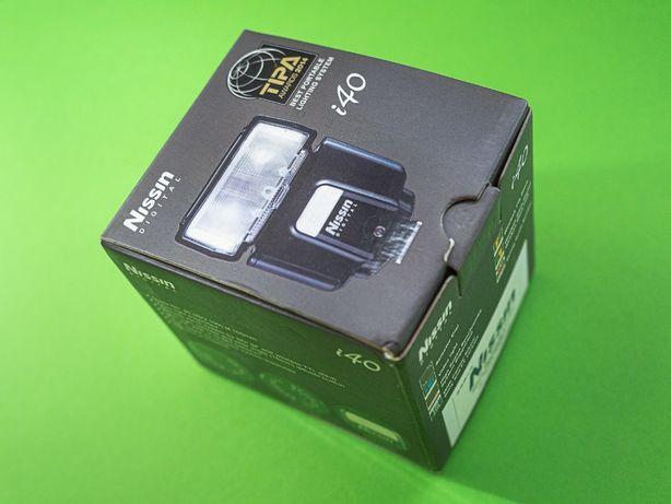 Накамерная TTL вспышка Nissin i40 для камер Panasonic и Olympus