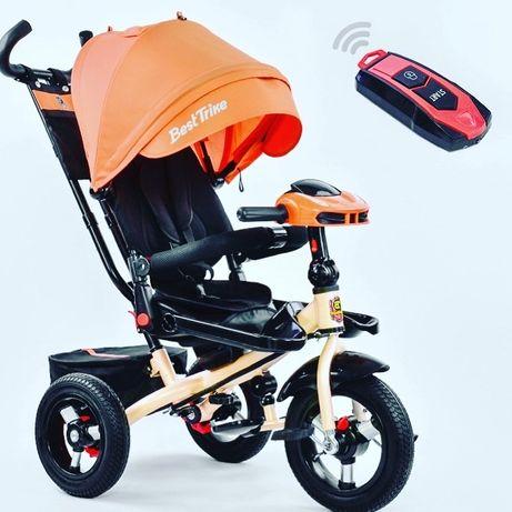 Велосипед 3-х колёсный Best Trike .ФАРА С USB, ТЕЛЕСКО