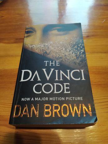 """Książka """"The Da Vinci Code"""" Dan Brown ENG"""