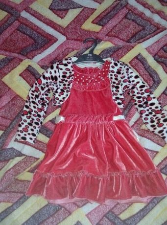 Новое нарядное платье с болеро Pink, плаття, сукня