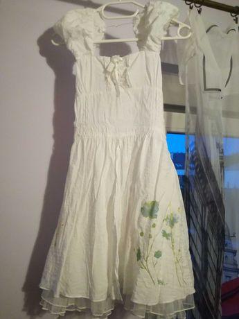 Sukienka dziewczęca rozmiar 128