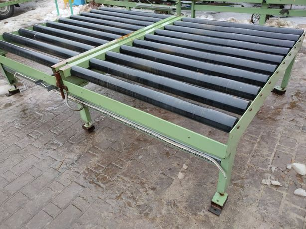 Przenośnik transporter podajnik NAPĘDZANY 300x200cm do dużych obciążeń