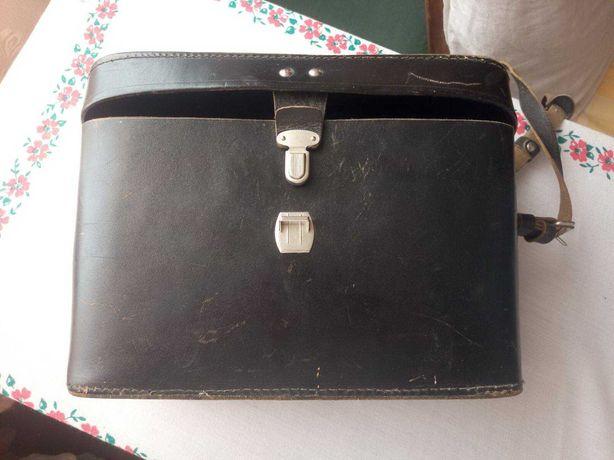 Кожаная сумка начинающего фотографа