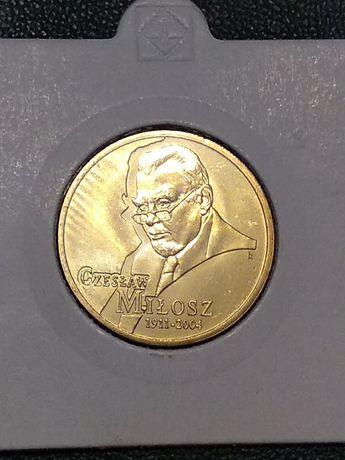 Moneta 2 zł Czesław Miłosz 2011