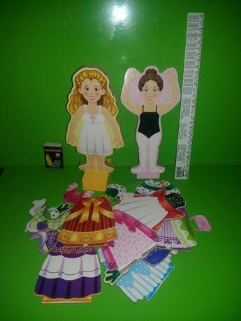Melissa & Doug Princess Elise мелиса и дог одежда на магнитах оригинал