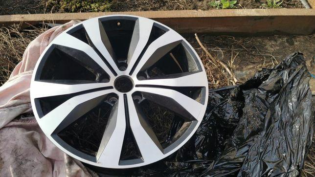 Диски оригинальные Фольксваген Туарег 2, VW Touareg 2010-2018, 7p, 20R