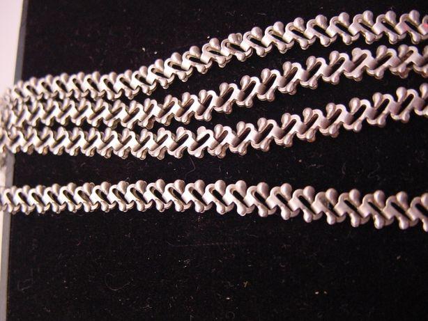Широкая цепочка из серебра 925 пробы