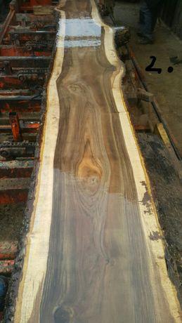 Drewno orzech włoski blaty drewniane bar stół ława parapety drzwi loft