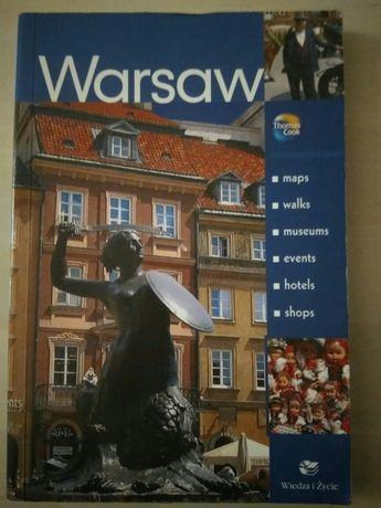 Przewodnik Warszawa język angielski Warsaw Wiedza i Życie